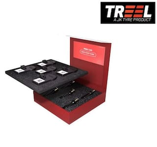 JK Treel BLE CAR Tracking Kit Tyre Pressure Monitoring Systems (TPMS) Smart Tyre