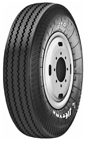 JK Tyre HCV Jet R Miles 4 Wheeler Tyre (10.00 R20,Tubetype) (Set of 2)