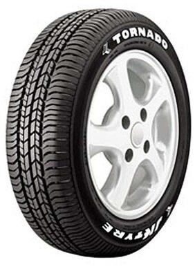 JK Tyres TORNADO 4 Wheeler Tyre (165/65 R13, Tube Less)