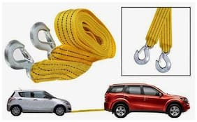 Auto Ryde Fiber Tow Cable Yellow Colour 3 m 3 Ton
