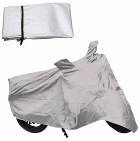 JMD Hero Motocorp Passion XPRO Bike Cover-Silver