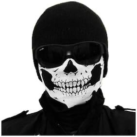 Jonty Black Face Mask Bike Cover Multi Functional Balaclava