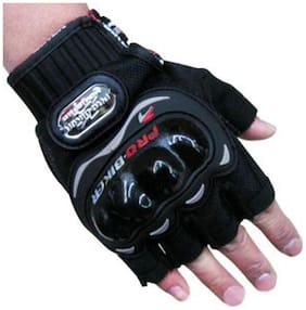 Joynix Pro Biker Gloves Half Black Size (Xl)