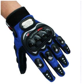 Joynix Pro Biker Gloves Full Blue Size (Xl)