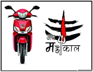 Just Rider Radium Stickers Jay Mahakal