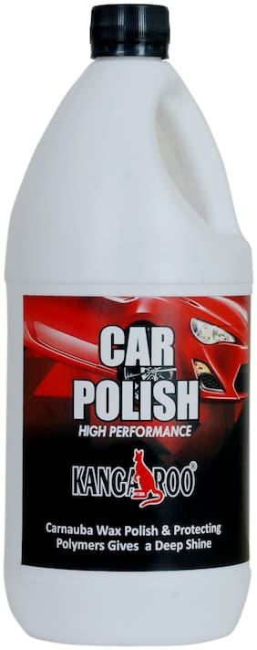 Kangaroo Car Wax - Carnauba Shine (1 LITRE) + FOAM APPLICATOR