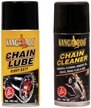 Kangaroo Chain Lube & Chain Cleaner 150 ml Each