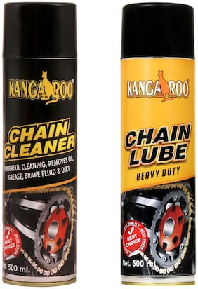 Kangaroo Chain Lube & Chain Cleaner 500 ml Each