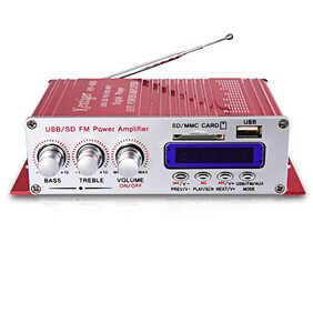 Kentiger HY - 400 Stereo Super Bass Audio Digital Player Hi-Fi Power Amplifier