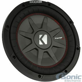 KICKER 43CWRT672 300W 6.75 Inch CompRT Dual 2-Ohm Car Subwoofer