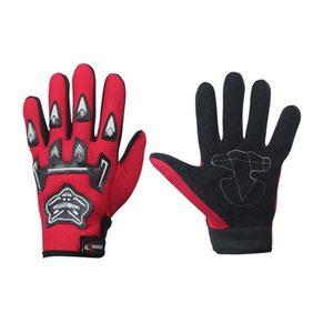Probiker Full Finger Gloves For Bikers Red [Kitchen & Home]