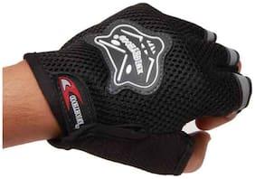 Knight Hood Glove Half (Black)