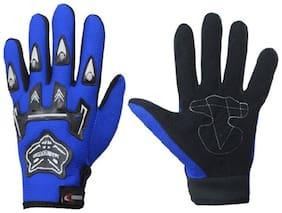 Knight Hood Glove Full (Blue)