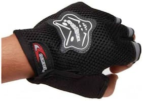 Knighthood Half Hand Grip For Bike Motorcycle Scooter Driving Gloves