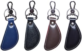 Knott assorted Four Leather Key chain