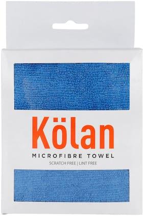Kolan Microfiber Multipurpose Towel and Cleaning Cloth;2 Towel/Pack - Blue