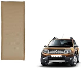 Kozdiko Beige Leatherite Steering Cover Stitchable Punched For Renault Duster