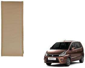 Kozdiko Beige Leatherite Steering Cover Stitchable Punched For Maruti Suzuki Zen Estilo