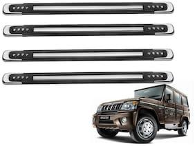 Kozdiko Black Designer Dotted Bumper Protector 4 pc For Mahindra Bolero