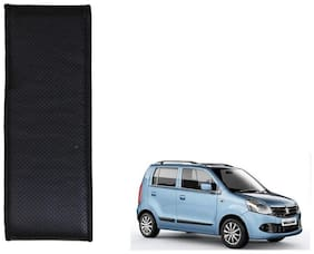 Kozdiko Black Leatherite Steering Cover Stitchable Punched For Maruti Suzuki WagonR