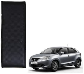 Kozdiko Black Leatherite Steering Cover Stitchable Punched For Maruti Suzuki Nexa Baleno