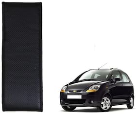 Kozdiko Black Leatherite Steering Cover Stitchable Punched For Chevrolet Spark