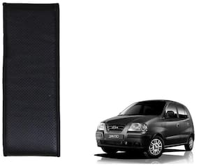 Kozdiko Black Leatherite Steering Cover Stitchable Punched For Hyundai Santro,Santro Xing