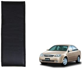 Kozdiko Black Leatherite Steering Cover Stitchable Punched For Chevrolet Optra