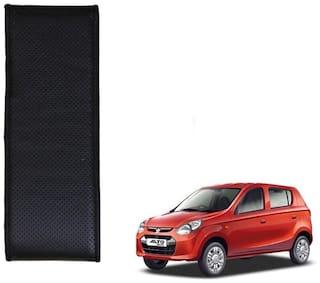 Kozdiko Black Leatherite Steering Cover Stitchable Punched For Maruti Suzuki Alto 800