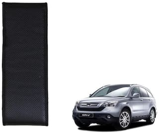 Kozdiko Black Leatherite Steering Cover Stitchable Punched For Honda CR-V