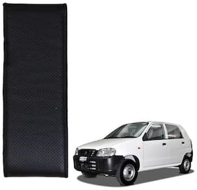 Kozdiko Black Leatherite Steering Cover Stitchable Punched For Maruti Suzuki Alto
