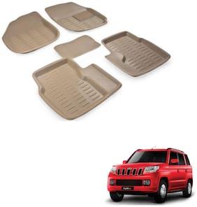 Kozdiko Car 3D Mats Foot mat for Mahindra TUV 300
