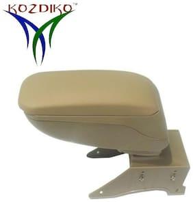 Kozdiko Car Armrest Console Beige RMA75 Mahindra Verito
