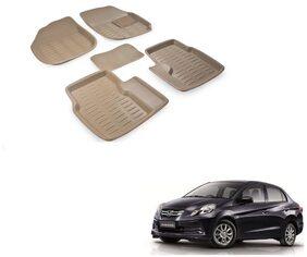 Kozdiko Car 3D Mats Foot mat for Honda Amaze