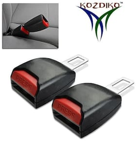 Kozdiko Car Seat Belt Clip Extender Support Buckle 2 pc for Mahindra Xylo