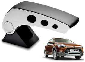 Kozdiko Car Armrest Round Chrome Black RMA87 Hyundai i20