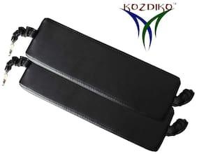Kozdiko Car Seat Gap Filler Black Color Set of 2 pc for Renault Lodgy