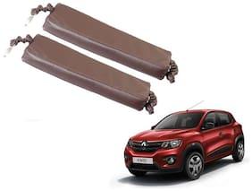 Kozdiko Car Seat Gap Filler Brown Color Set of 2 pc for Renault Kwid