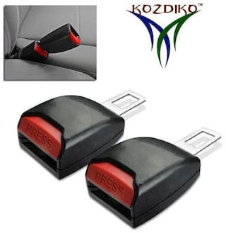 Kozdiko Car Seat Belt Clip Extender Support Buckle 2 pc for Toyota Fortuner