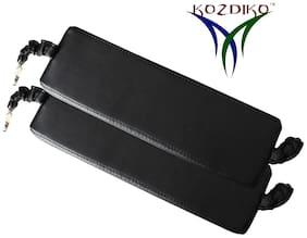 Kozdiko Car Seat Gap Filler Black Color Set of 2 pc for Mahindra Verito Vibe