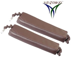 Kozdiko Car Seat Gap Filler Brown Color Set of 2 pc for Tata Nexon