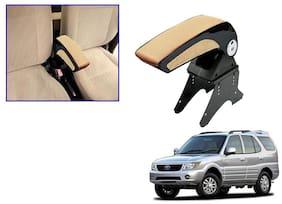 Kozdiko Car Armrest Plain Chrome Beige RMA24 Tata Safari