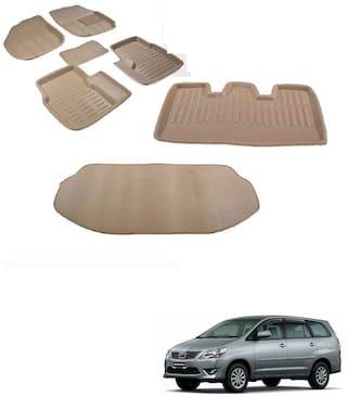 Kozdiko Car 3D Mats Foot mat for Toyota Innova