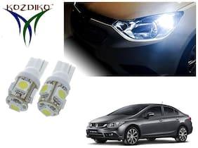 Kozdiko Headlight LED;Parking Light;Number Plate bulb;Indicator light for Skoda Rapid