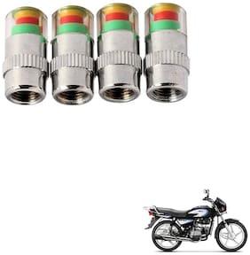 Kozdiko Premium Quality Bike Tire Pressure Air Alert For Hero Splendor Pro