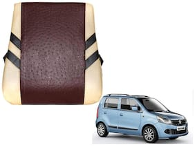 Kozdiko Premium Quality Beige Brown Color Backrest for Maruti Suzuki WagonR
