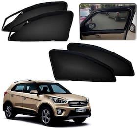 Kozdiko Premium Quality Zipper Magnetic Car Curtain for Hyundai Creta