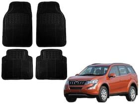 Kozdiko Premium Heavy Duty Simple Rubber Black Car Mat For Mahindra XUV 500 New