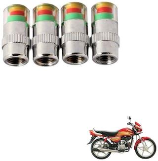 Kozdiko Premium Quality Bike Tire Pressure Air Alert For Hero HF Deluxe