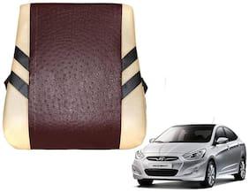 Kozdiko Premium Quality Beige Brown Color Backrest for Hyundai Accent